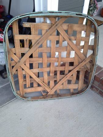 Vintage Tobacco Baskets $75 each View on Craigslist