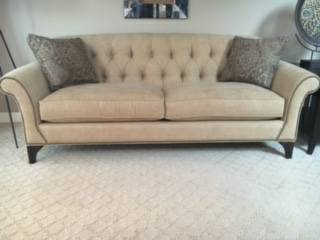 Arhaus Sofa $1000 View on Craigslist