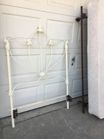 Twin Iron Bed $135 View on Craigslist