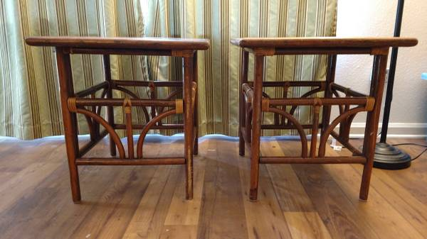 Pair of End Tables $30 View on Craigslist