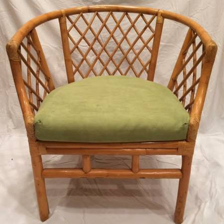 Vintage Rattan Chair     $100     View on Craigslist