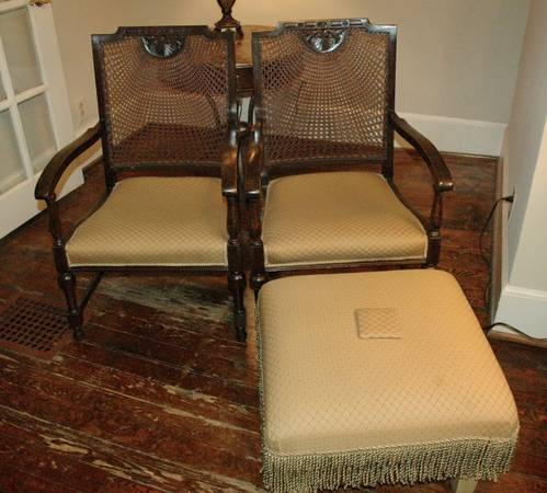 Antique Chairs $55 each View on Craigslist