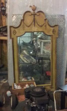 Antique Mirror $25 View on Craigslist
