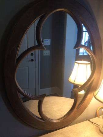 Restoration Hardware Mirror $215 View on Craigslist