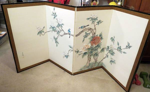 Vintage Japanese Screen     $150     View on Craigslist