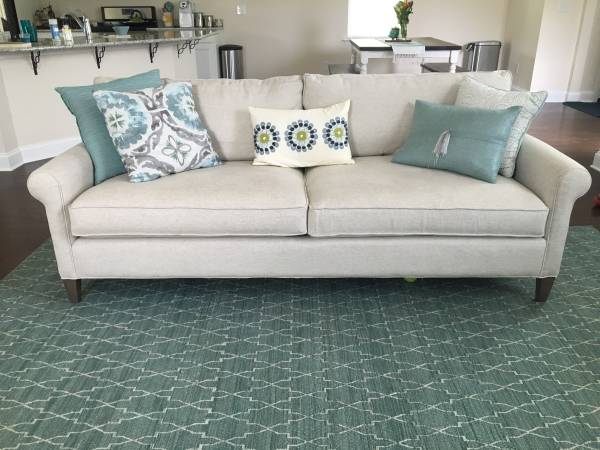 Crate and Barrel Sofa     $900     View on Craigslist
