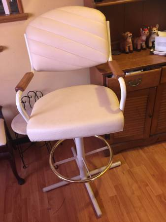 Pair of Leather Bar Stools     $80     View on Craigslist