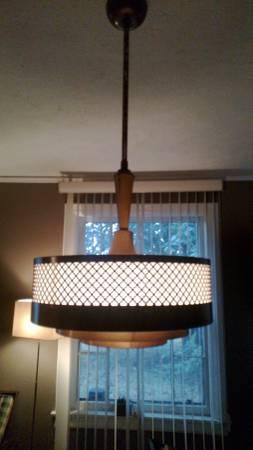 Mid-Century Light $100 each View on Craigslist