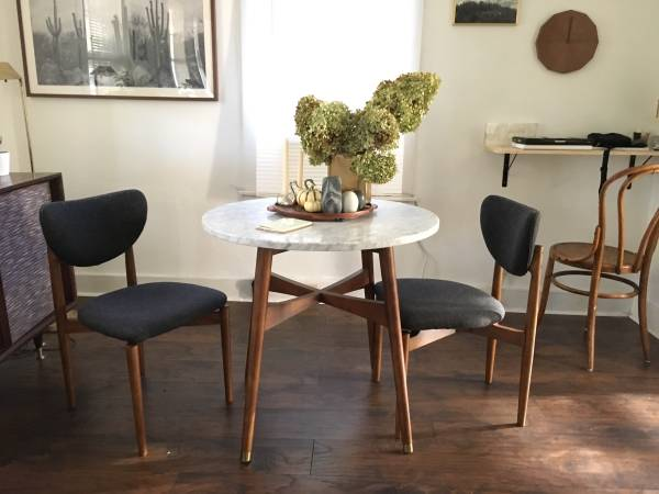 Pair of West Elm Chairs     $300     View on Craigslist