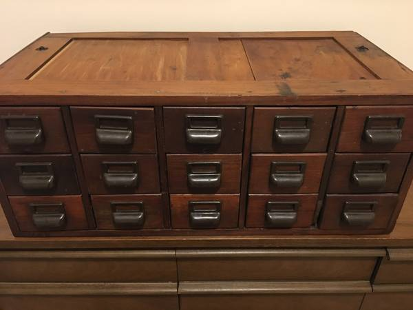 Card Catalog     $200     View on Craigslist