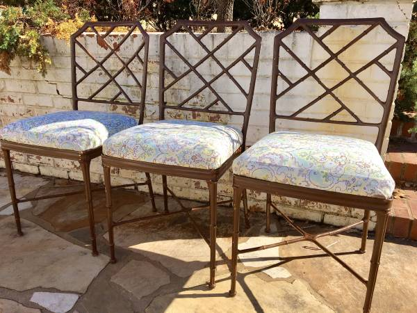 Set of Chinese Chippendale Chairs     $225     View on Craigslist
