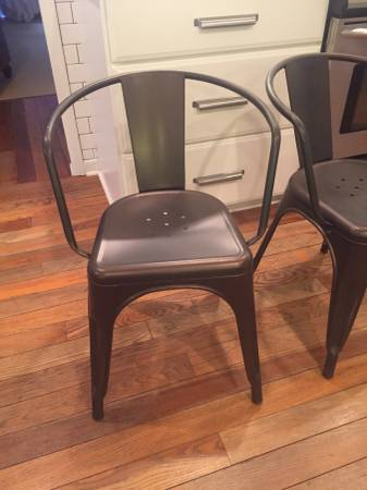 Set of 4 Tabouret Chairs     $100     View on Craigslist