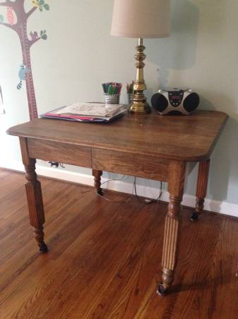 Antique Table $100 View on Craigslist