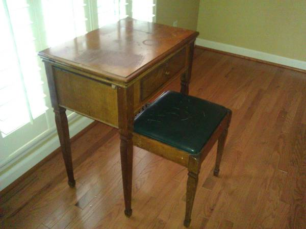 Sewing Machine Table $40 View on Craigslist