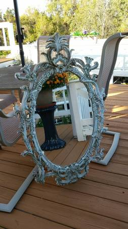 Ornate Mirror $45 View on Craigslist