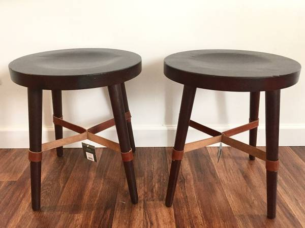 Pair of Stools/Tables     $85     View on Craigslist