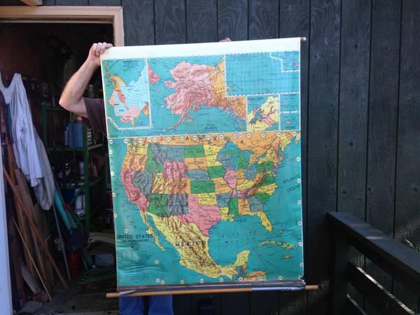 Vintage School Map     $60     View on Craigslist