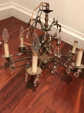 Vintage Chandelier $45 View on Craigslist