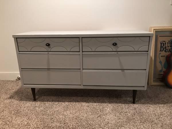 Mid-Century Modern Dresser $210 View on Craigslist