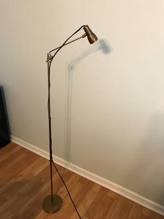 Restoration Hardware Floor Lamp     $200     View on Craigslist