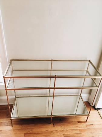 West Elm Console Table $350 View on Craigslist