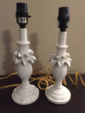 Pair of Pineapple Lamps     $20     View on Craigslist