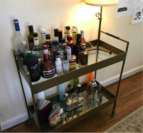 Restoration Hardware Barcart $50 View on Craigslist