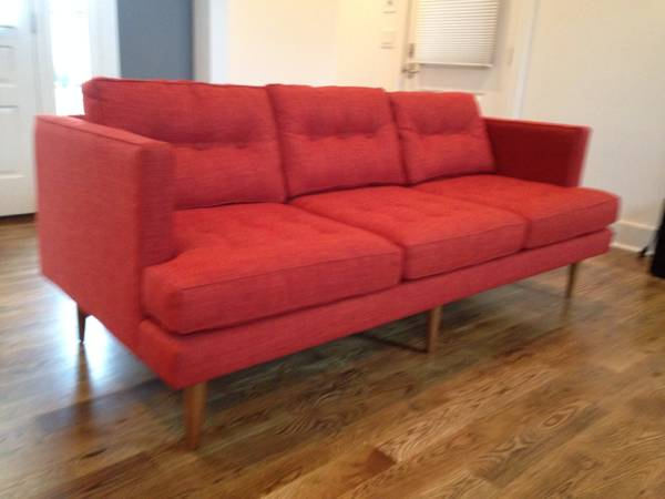 West Elm Sofa     $700     View on Craigslist