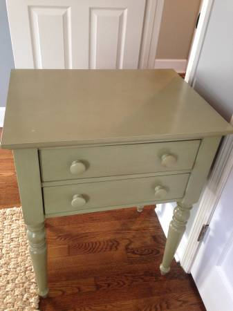 Pottery Barn Bedside Table $225 View on Craigslist