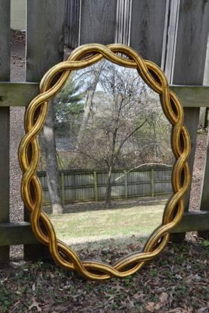 Gold Mirror     $95     View on Craigslist
