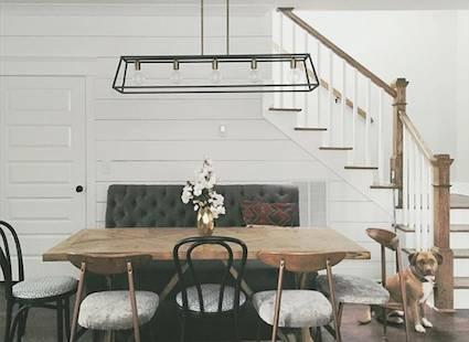 Farmhouse Trestle Table     $400     View on Craigslist