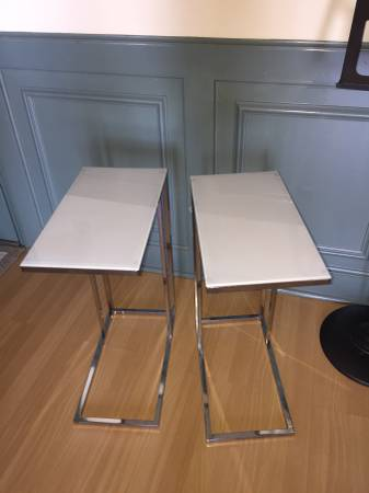 Pair of End Tables $50 View on Craigslist