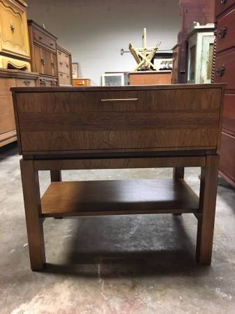 Mid-Century Nightstand $125 View on Craigslist