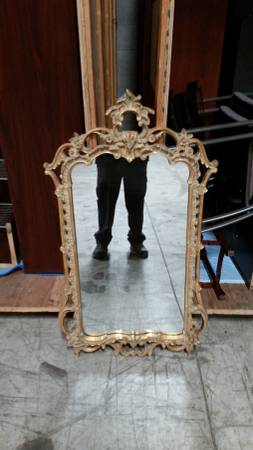 Ornate Mirror $100 View on Craigslist