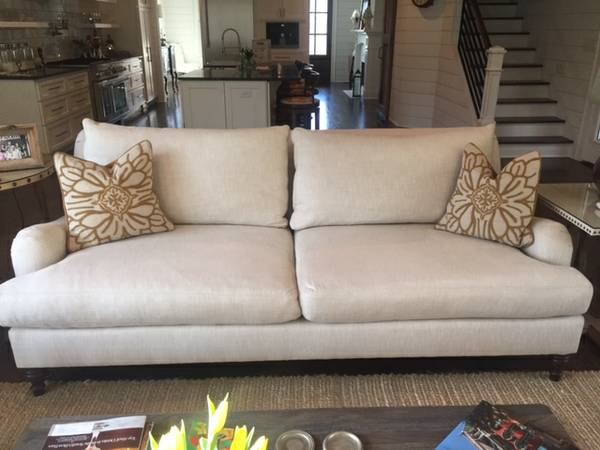 Pottery Barn Carlise Sofa $1300 View on Craigslist
