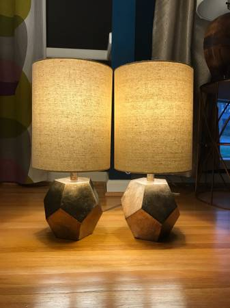 Pair of Lamps     $40     View on Craigslist