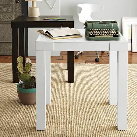 West Elm Mini Parson Desk     $75     View on Craigslist
