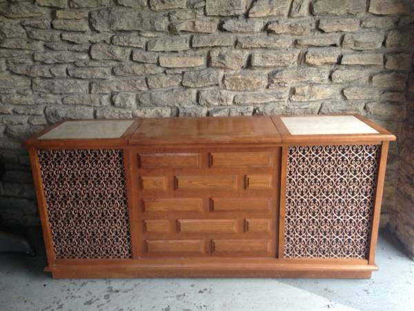 Vintage Stereo Cabinet $50 View on Craigslist