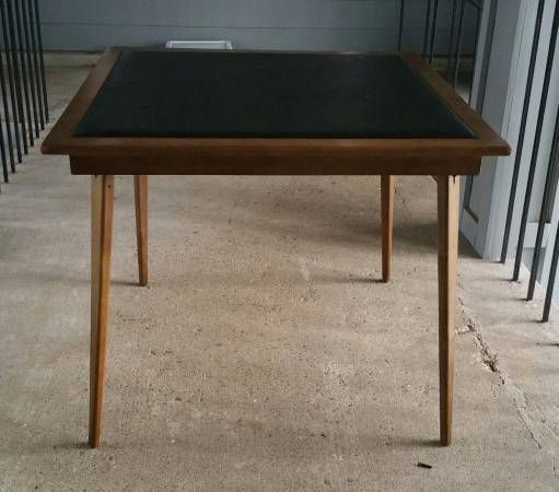 Vintage Card Table $60 View on Craigslist