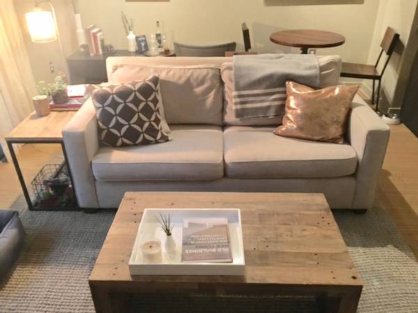 West Elm Henry Sofa $475 View on Craigslist
