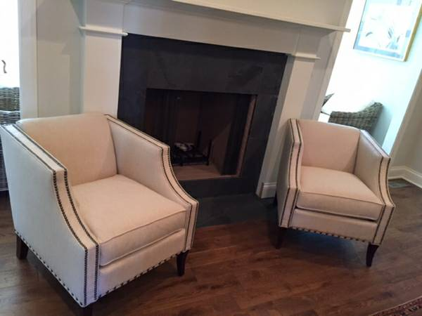 Pair of Hooker Club Chairs $500 View on Craigslist
