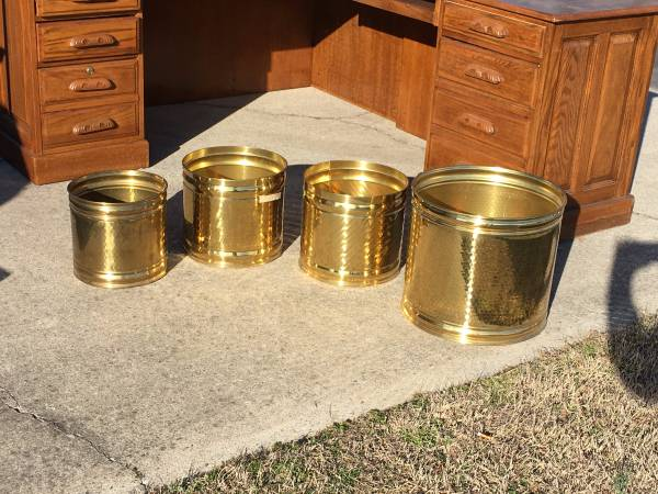 Set of Brass Containers     $40     View on Craigslist