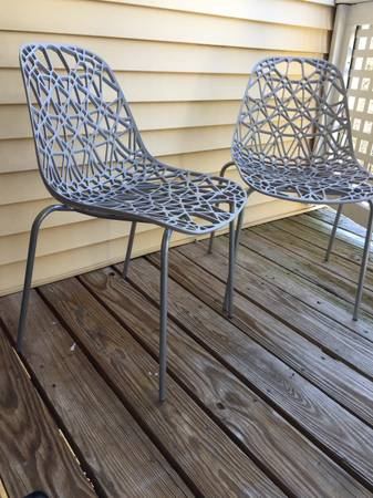 Pair of Outdoor Chairs $90 View on Craigslist