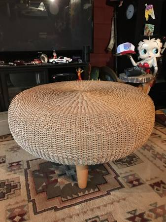 Woven Coffee Table $135 View on Craigslist