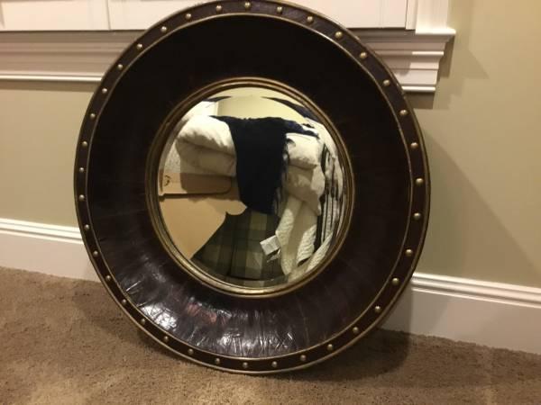 Round Mirror $50 View on Craigslist