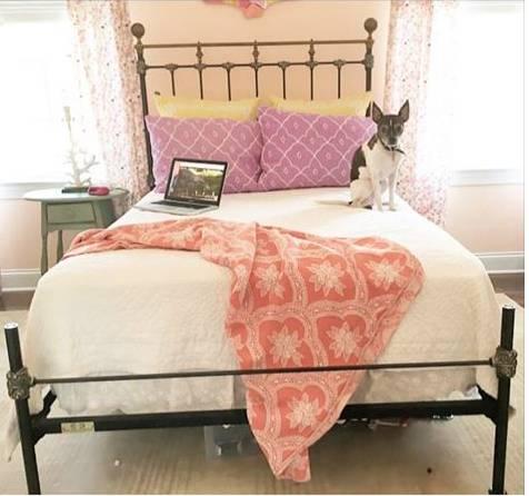Vintage Brass & Iron Bed $300 View on Craigslist