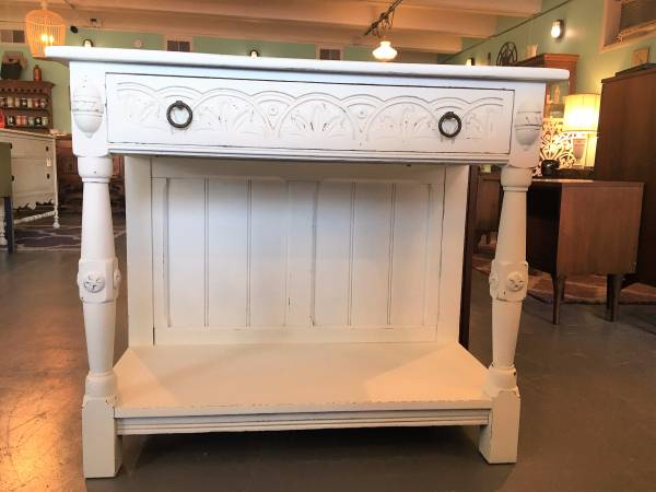 Antique Refinished Server $399 This would be perfect in a kitchen. View on Craigslist