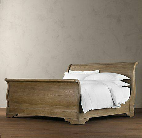 Restoration Hardware Sleigh Bed $1000 View on Craigslist