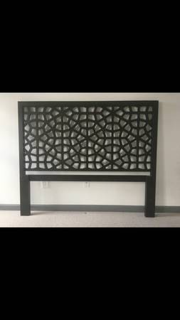 West Elm Queen Headboard $300 View on Craigslist