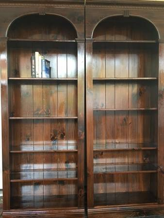 Ethan Allen Bookshelves $149 each View on Craigslist